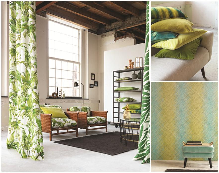 In the Spotlight: Unique Fabrics Chivasso, Monsoon Collection